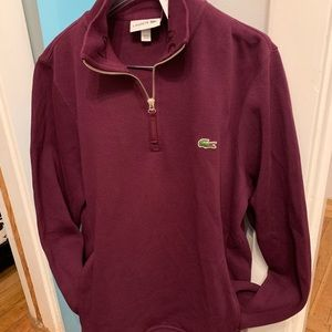 LaCoste 3/4 pullover jacket